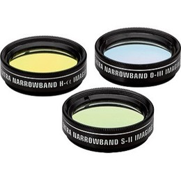 "Orion 1.25"" Extra-Narrowband Tri-color CCD Filter Set"